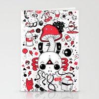 calavera Stationery Cards featuring Calavera by Giulia Marchetti