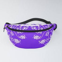 floral ornaments pattern wbp60 Fanny Pack