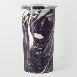 Crow girl Travel Mug