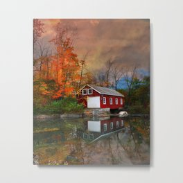 Morningstar Mill Metal Print