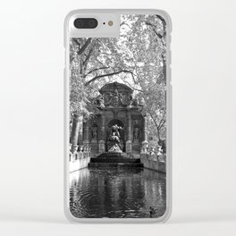 La Fontaine de Medicis Clear iPhone Case