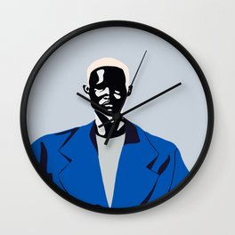 Blue coat Wall Clock