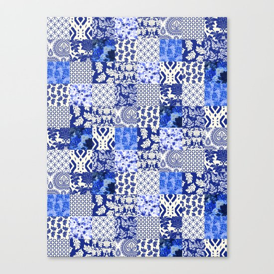 Blue Is Just A Mood Canvas Print