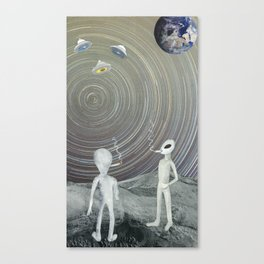 Void Chasers Canvas Print