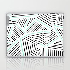 Ab Linear Zoom With Mint Laptop & iPad Skin