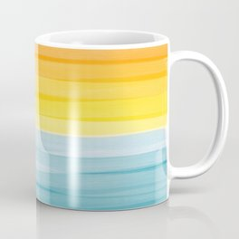 Sunset on the Ocean Minimalist Painting Coffee Mug