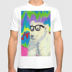 Colorful thinking Mens Fitted Tee White MEDIUM