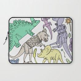 dinosaur friends Laptop Sleeve