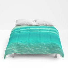 Tropical Water Comforters