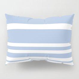 Scandi Pastel Cornflower Stripes Pillow Sham
