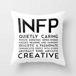 INFP Throw Pillow