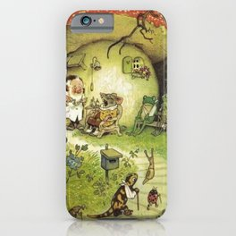 Country Doctor by Fritz Baumgarten  iPhone Case