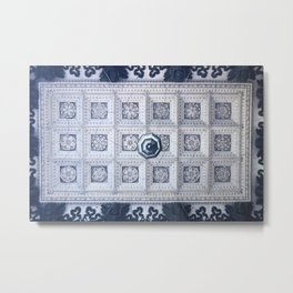 The ceiling of the hall of St. Isaac's Cathedral Metal Print