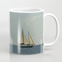 Full Sail on the High Seas Coffee Mug