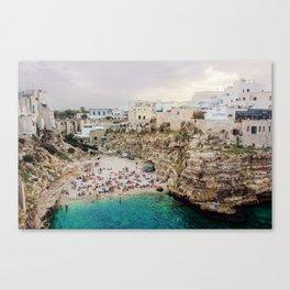 Polignano A Mare Canvas Print