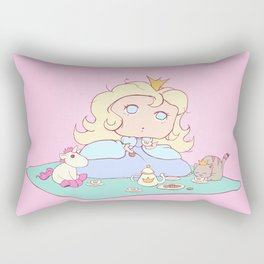 Lil Princess Tea Time Rectangular Pillow