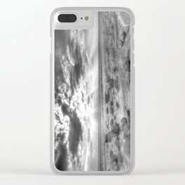 Birling Gap Seven Sisters Angel Light Clear iPhone Case