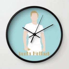 Peeta Vector Wall Clock