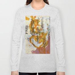 follow @ art Long Sleeve T-shirt