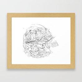 New Year, New Me Framed Art Print
