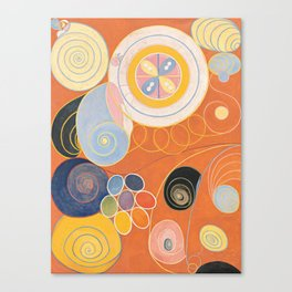 Hilma Af Klint Group IV No 3 Canvas Print