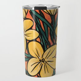 Yellow Crocuses Travel Mug