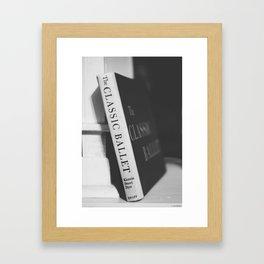 The Classic Ballet Framed Art Print
