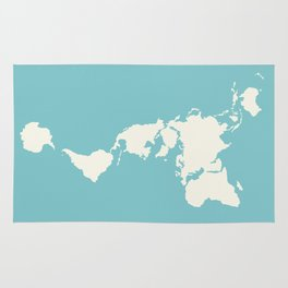 Dymaxion Map of the World Rug