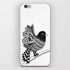 Zentangle Bird iPhone & iPod Skin