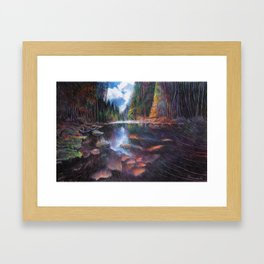 Feel Alive Framed Art Print