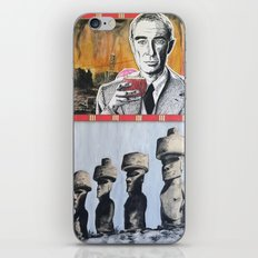 Oppenheimer's Deadly Tiki Toys iPhone & iPod Skin