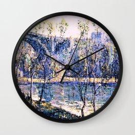 12,000pixel-500dpi - Ernest Lawson - Spring Morning - Digital Remastered Edition Wall Clock