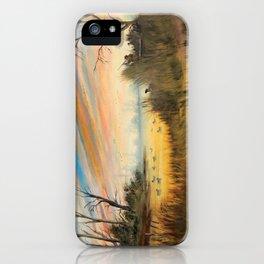 Evening Duck Hunters iPhone Case