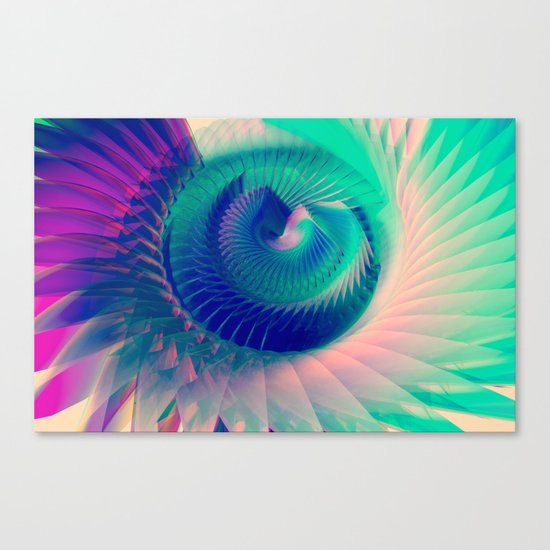 Abstract Wing Canvas Print