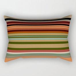 Calming Natural Color Palette Rectangular Pillow