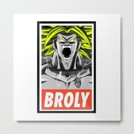 BROLY Metal Print