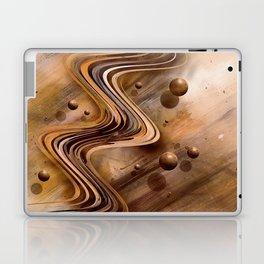 Chocolate Waves Laptop & iPad Skin
