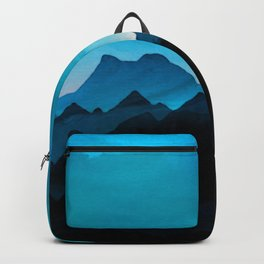 Night Storm In The Mountains Backpack