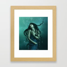 Deep Water Framed Art Print