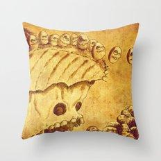 Lemmings Throw Pillow