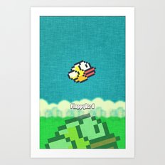 Flappy Bird - for IPhone Art Print