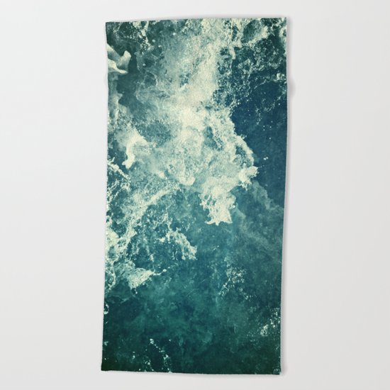 Water III Beach Towel