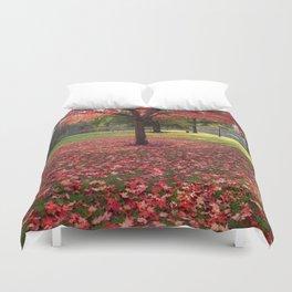 Red Maple Tree Duvet Cover