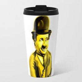 Charlie Chaplin Travel Mug