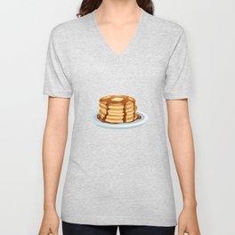 Pancakes & Dots Pattern Unisex V-Neck