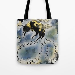 I Watch the Bees Tote Bag