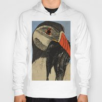 puffin Hoodies featuring Puffin  by EmilyGrantDesign