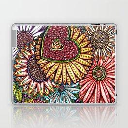 I Love Flowers Laptop & iPad Skin