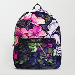 Pink Geraniums, Goddess Energy Backpack