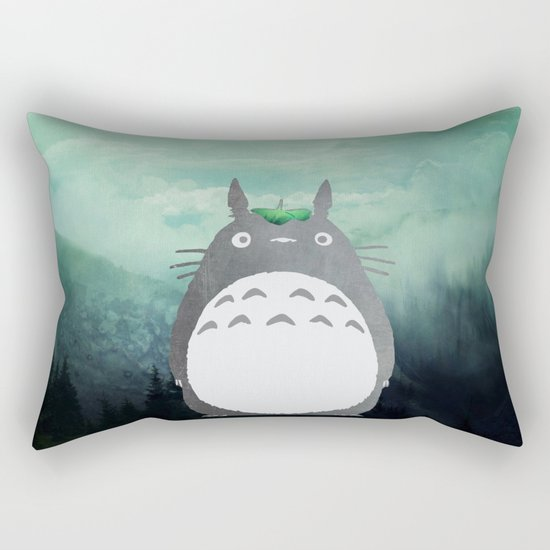 Forest spirit Rectangular Pillow
